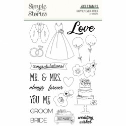 Simple Stories - Timbri clear - Happily Ever After