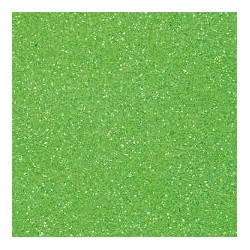 Gomma crepla -verde chiaro  glitter - 20x30cm