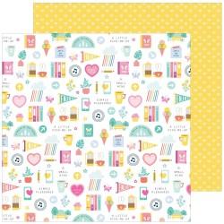"Pink Fresh Studio - Carte 12x12"" -  Daily Grind"