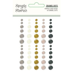 Simple Stories - Enamel Dots - Happily Ever After