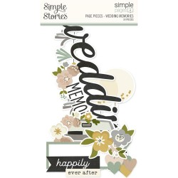 Simple Stories - Chipboard Frames - Happily Ever After