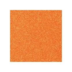 Gomma crepla  arancione glitter - 20x30cm