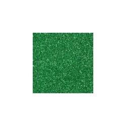 Gomma crepla  verde scuro glitter - 20x30cm