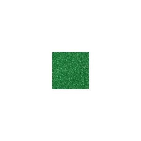 Gomma crepla  verde scuro glitter