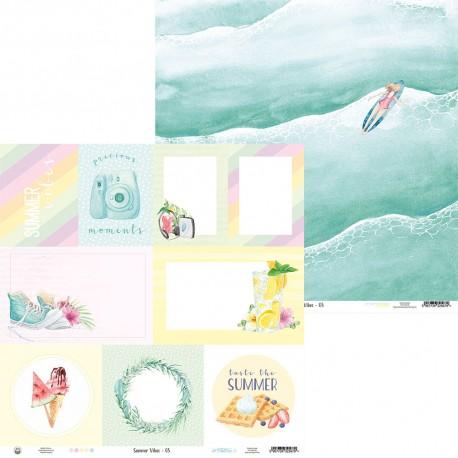 "P13 - Carta 12x12"" - Summer Vibes 05"