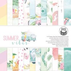 "P13 - Pad Summer Vibes - 6x6"""