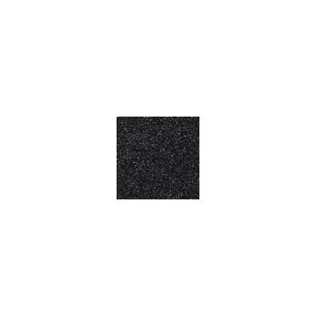 Gomma crepla  nero glitter