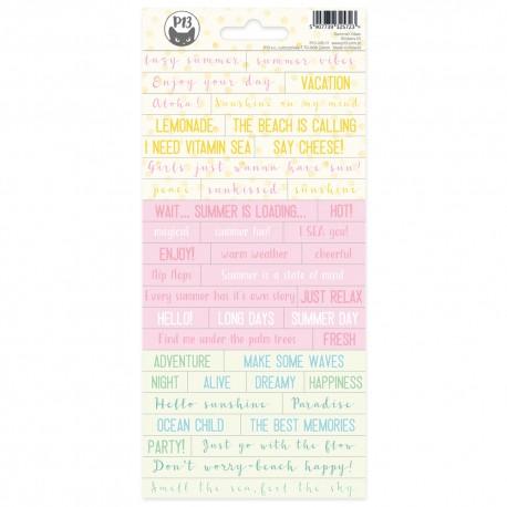 P13 - Sticker sheet -  Summer Vibes 01