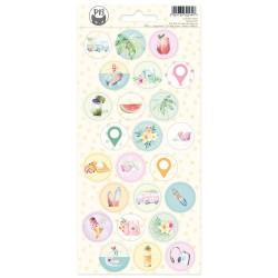 P13 - Sticker sheet -  Summer Vibes 03