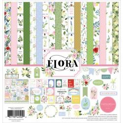 """Carta Bella -Kit 12x12"""" - Flora.4"""