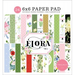 "Carta Bella - Pad 6x6"" - Flora.4"