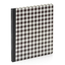 "Simple Stories - Flipbook 6x8"" - Black Buffalo Check"