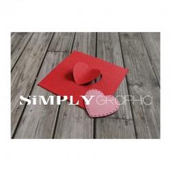 Simply Graphic - Fustella - 2 dies coeurs