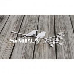 Simply Graphic - Fustella - Deux Oiseaux sur une Branche