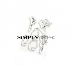Simply Graphic - Timbri Clear - Bouquets
