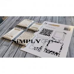 Simply Graphic - Timbri Cling - Polas Fleuris