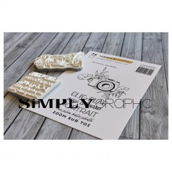 Simply Graphic - Timbri Cling - Say Cheese