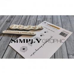 Simply Graphic - Timbri Cling - Un Peu, Beaucoup ...
