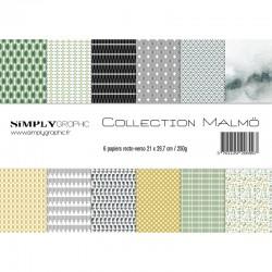 Simply Graphic - Kit A4 - Malmö