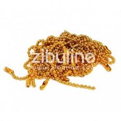 Zibuline - Abbellimenti - Catenella Oro 10 cm
