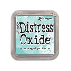 Tampone distress oxide - Salvaged Patina