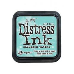 Tampone distress ink - Salvaged Patina