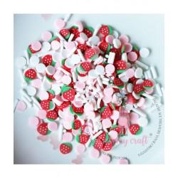 Dress My Craft - Abbellimenti - Strawberry Confetti