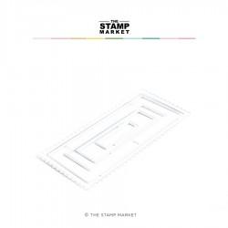 The Stamp Market - Fustella - MINI SLIMLINE BASICS