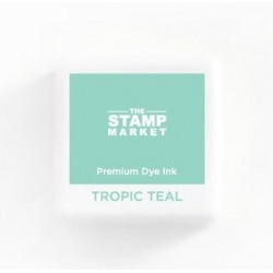The Stamp Market - Tampone - TROPIC TEAL