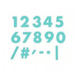 Impronte d'Autore - Fustella - Numeri cuciti