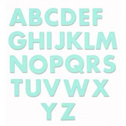 Impronte d'Autore - Fustella - Alfabeto cucito