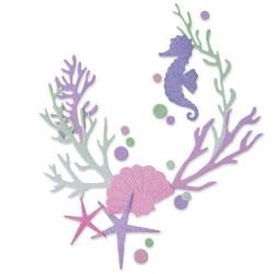 Sizzix - Fustella Thinlits - Coral Wreath