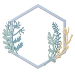 Sizzix - Fustella Thinlits - Botanical Frame