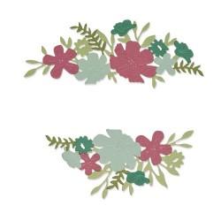 Sizzix - Fustella Thinlits - Wild Blossom Borders