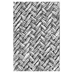 Sizzix - 3-D Texture Fades Embossing Folder - Intertwine by Tim Holtz