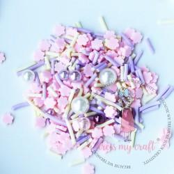 Dress My Craft - Abbellimenti - Pink Sakura Pearl