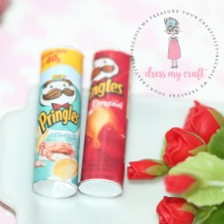 Dress My Craft - Abbellimenti - Miniature Pringles Box