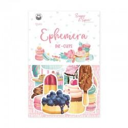 P13 - Paper die cut Ephemera - Sugar & Spice