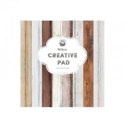 """Piatek13 - Creative Paper Pad Wood"""" - 12x12"""""""