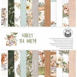 """PIATEK13 -  Paper Pad - Forest Tea Party-  12x12"""""""