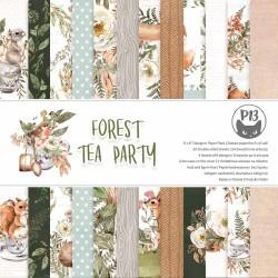 """PIATEK13 -  Paper Pad - Forest Tea Party - 6x6"""""""