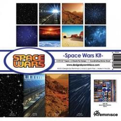 "Reminisce  - Kit Space Wars- 12x12"""