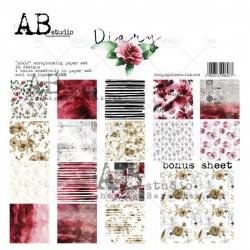 "AB STUDIO - Kit Carte 12x12"" – DIARY"