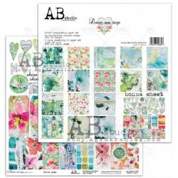 "AB STUDIO - Kit Carte 12x12"" – LOVE ON TOP"
