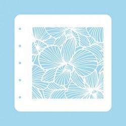 Nellie Snellen - Stencil - Flowers 3
