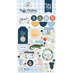 Echo Park - Puffy Stickers - Welcome Baby Boy