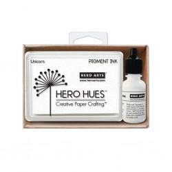 Tampone Hero Arts - Pigment Ink - Unicorn con ricarica