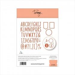 Tommy Art - Fustella - Alphabet