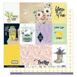 Florilèges Design - Carte Dolce Vita - N.1