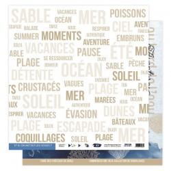 Florilèges Design - Carte Vue sur Mer - N.5